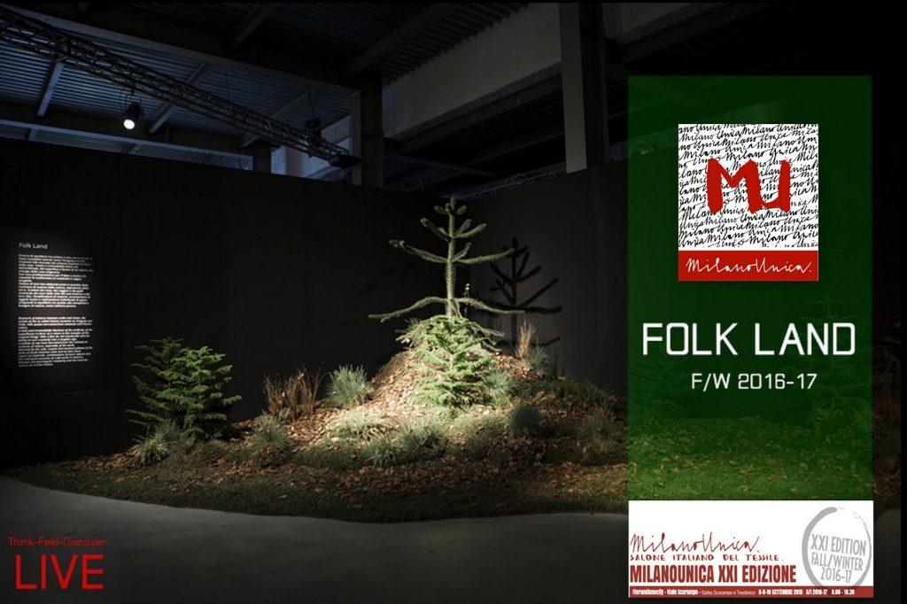 Fashion Inspirations, Milano Unica DIRECTIONS : II. Folk Land F/W 2016-17