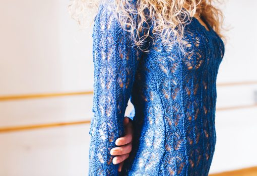 Chrichelle.gr knitted dress, Think Feel Discover fashion style
