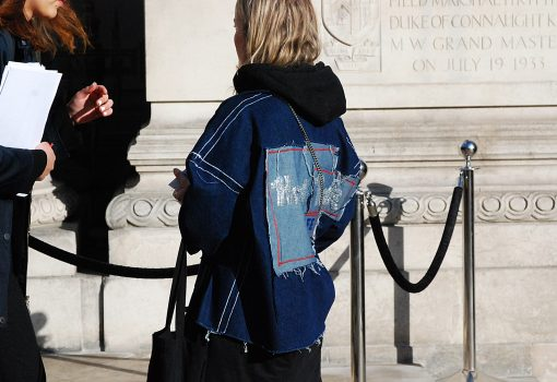 Think Feel Discover at LFW Feb17, Freemason's Hall, London photography exploring people's way to dress