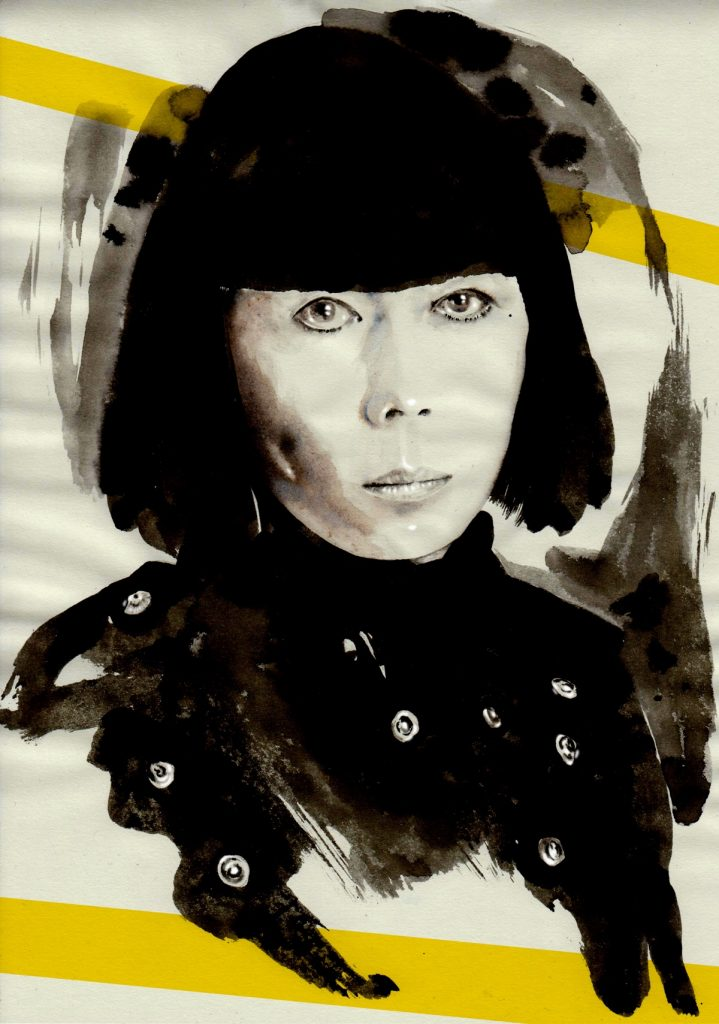 Mitsa Bocun's design Awarded Fashion Illustrator, fashion interview