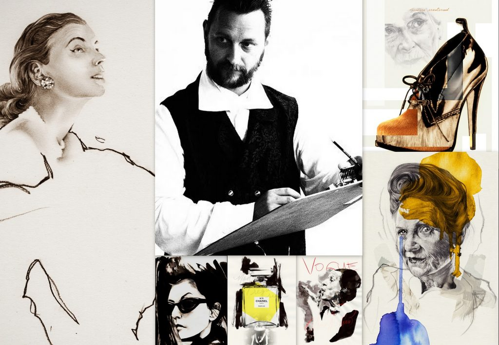 Mitsa Bocun's design Awarded Fashion Illustrator, fashion interview