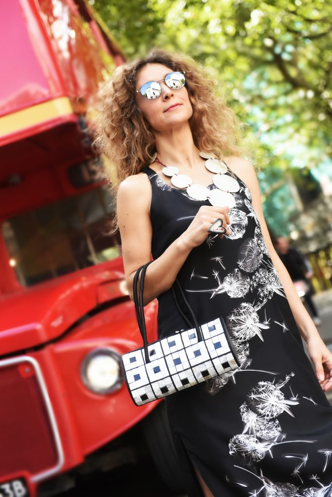 Danae Sakellari, 1014Lex, designer ofNGFL, London Street Style LFW SS18