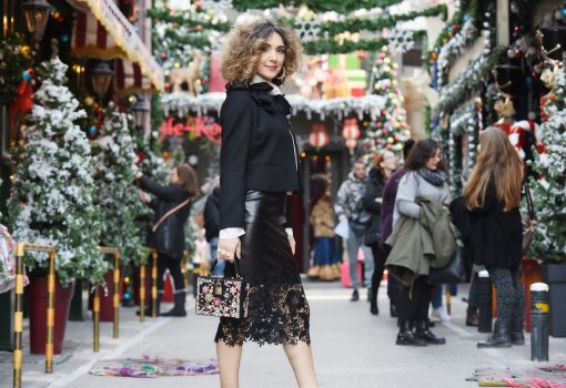 The Valentino Couture Black Suit, Andrianopoulos Fashion Stores,street style by Think Feel Discover
