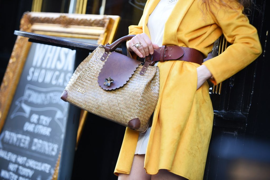 BmB Bamboo Bags, fashion style during London Fashion week FEb2018