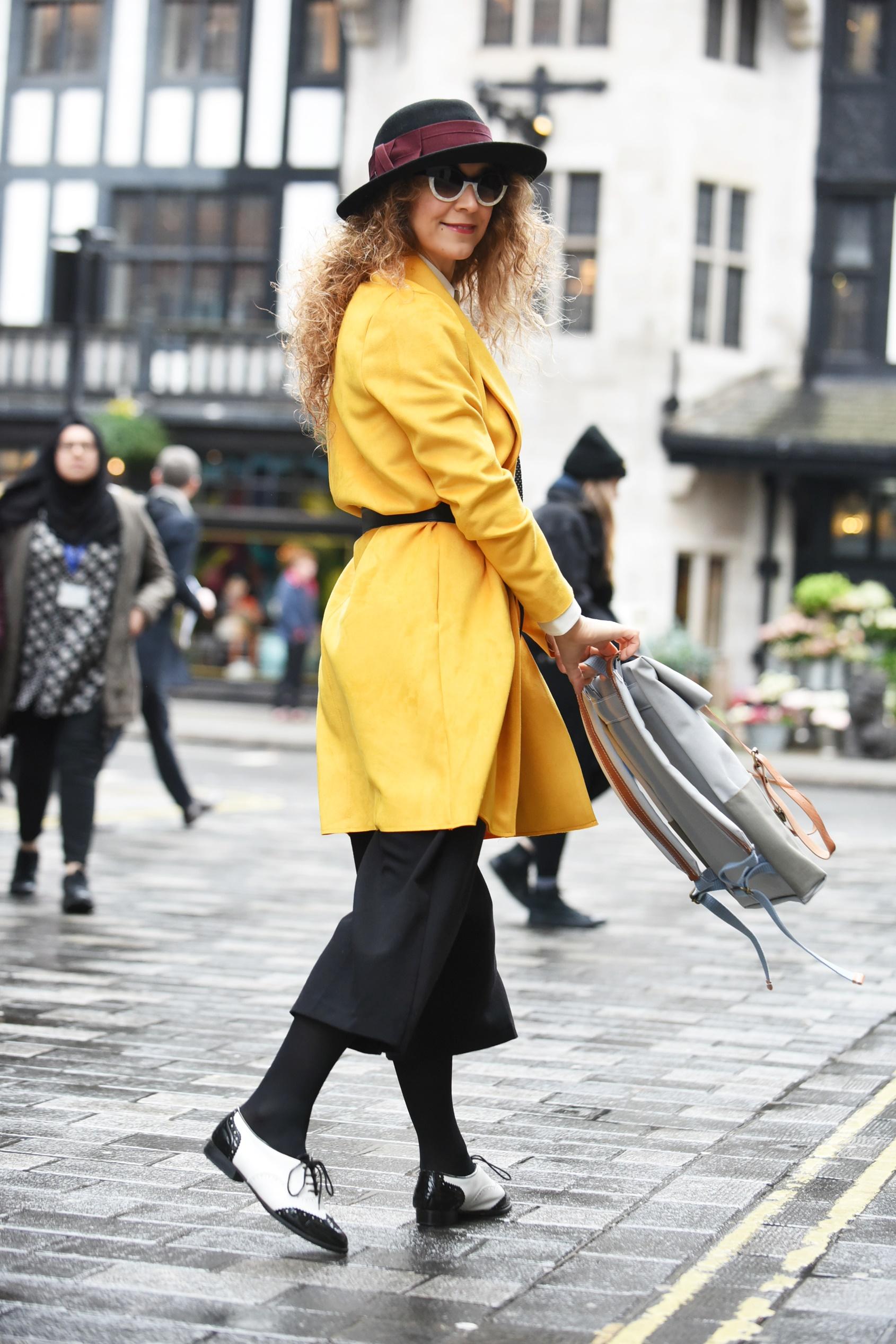 3quarters.design street style at London Fashion Week Feb2018