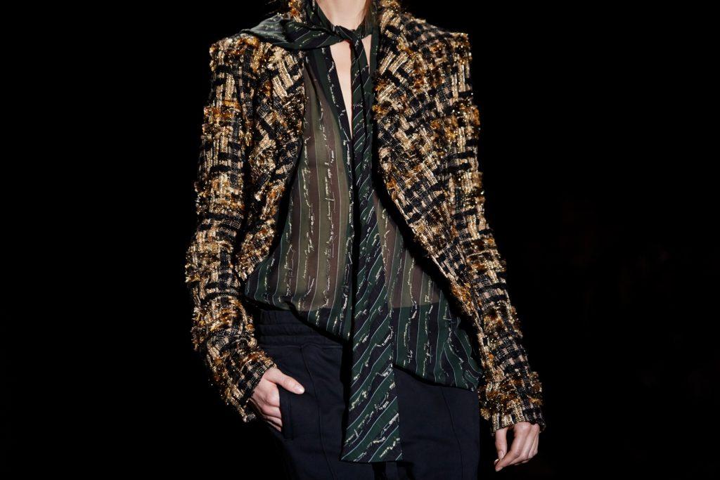 Fashion Calendar,Haider Ackermann backstage at Paris Fashion Week Fall Winter Collection 2015.