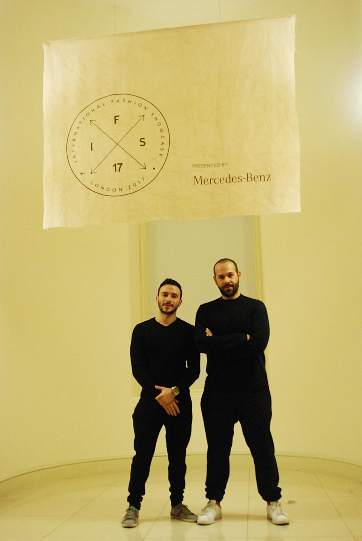 Sabry Marouf, Daki marouf, Somerset House at LOcal Global IFS17 Egypt during LFW