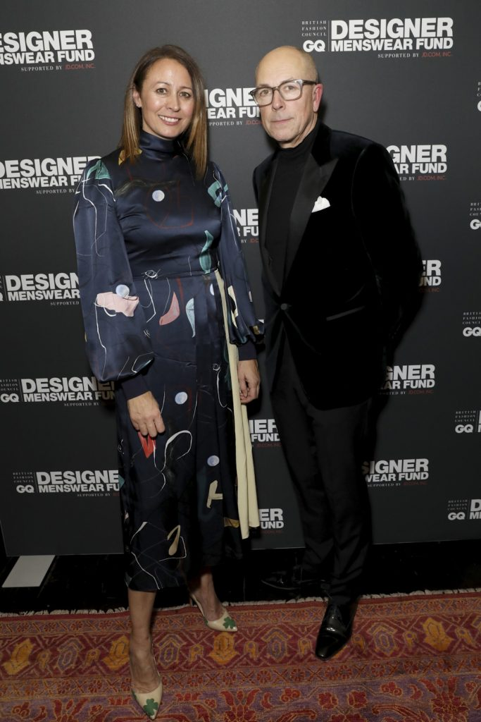Caroline Rush, Dylan Jones,The BFC/GQ Designer Menswear Fund