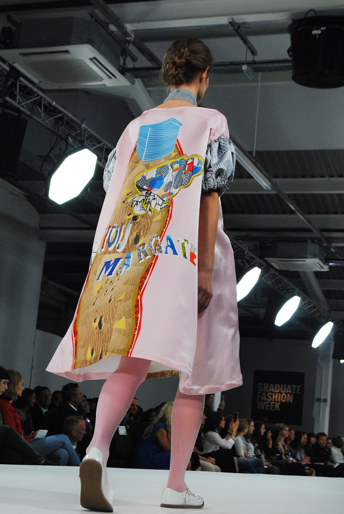 Lauren McAthur designer at GFW17, highlights of the fashion show by Think Feel Discover