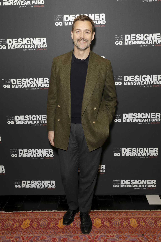 Patruick Grant,The BFC/GQ Designer Menswear Fund