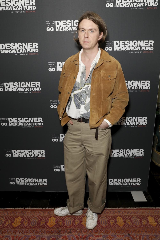Alex Mullins,The BFC/GQ Designer Menswear Fund
