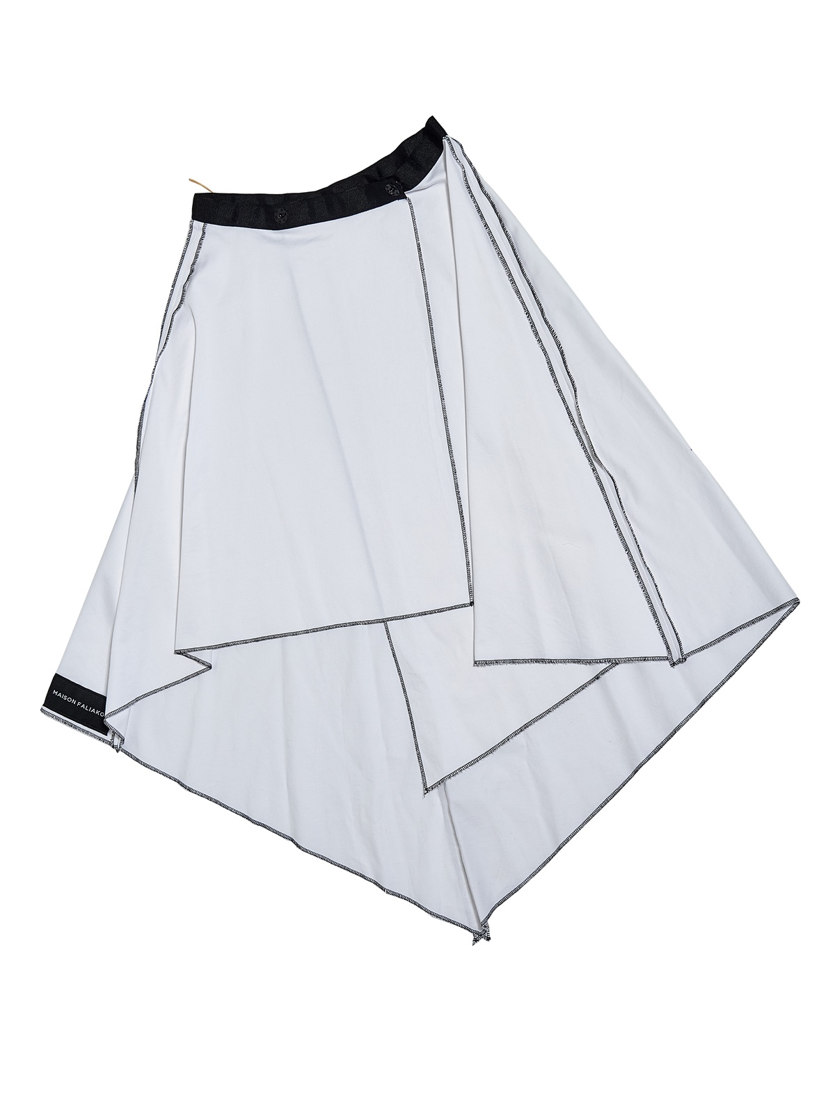 Maison Faliakos polymorphic skirt, Fashion Project with Think Feel Discover for LFW Feb19