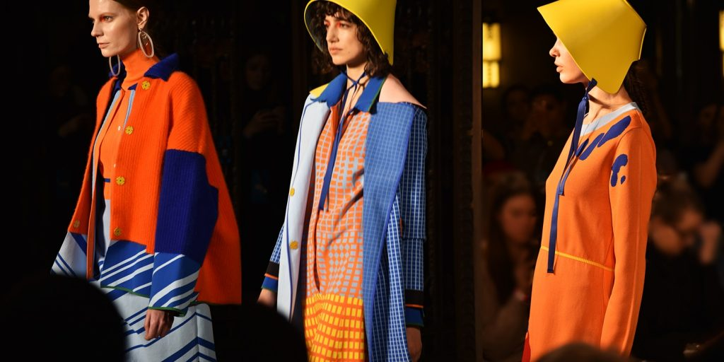 Susan Fang,Ones To Watch SS20 Merit Award by Fashion Scout London at LFWFeb2018