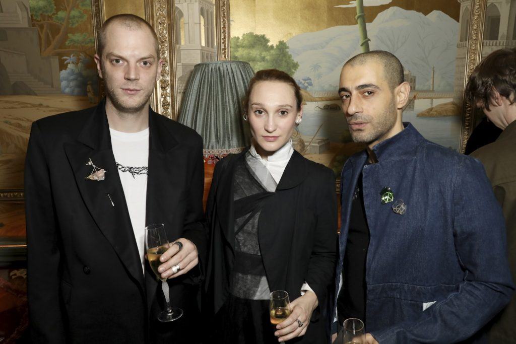 Per Gotesson, Phoebe English at the BFC/CG Designer Menswear Fundsupported by JD.com