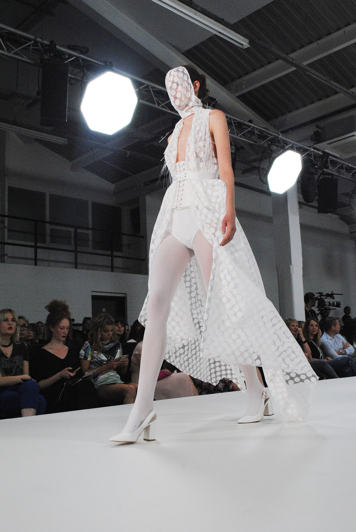 Sarah Louise Francis fashion show at GFW17, graduate designer, highlights by THink Feel Discover