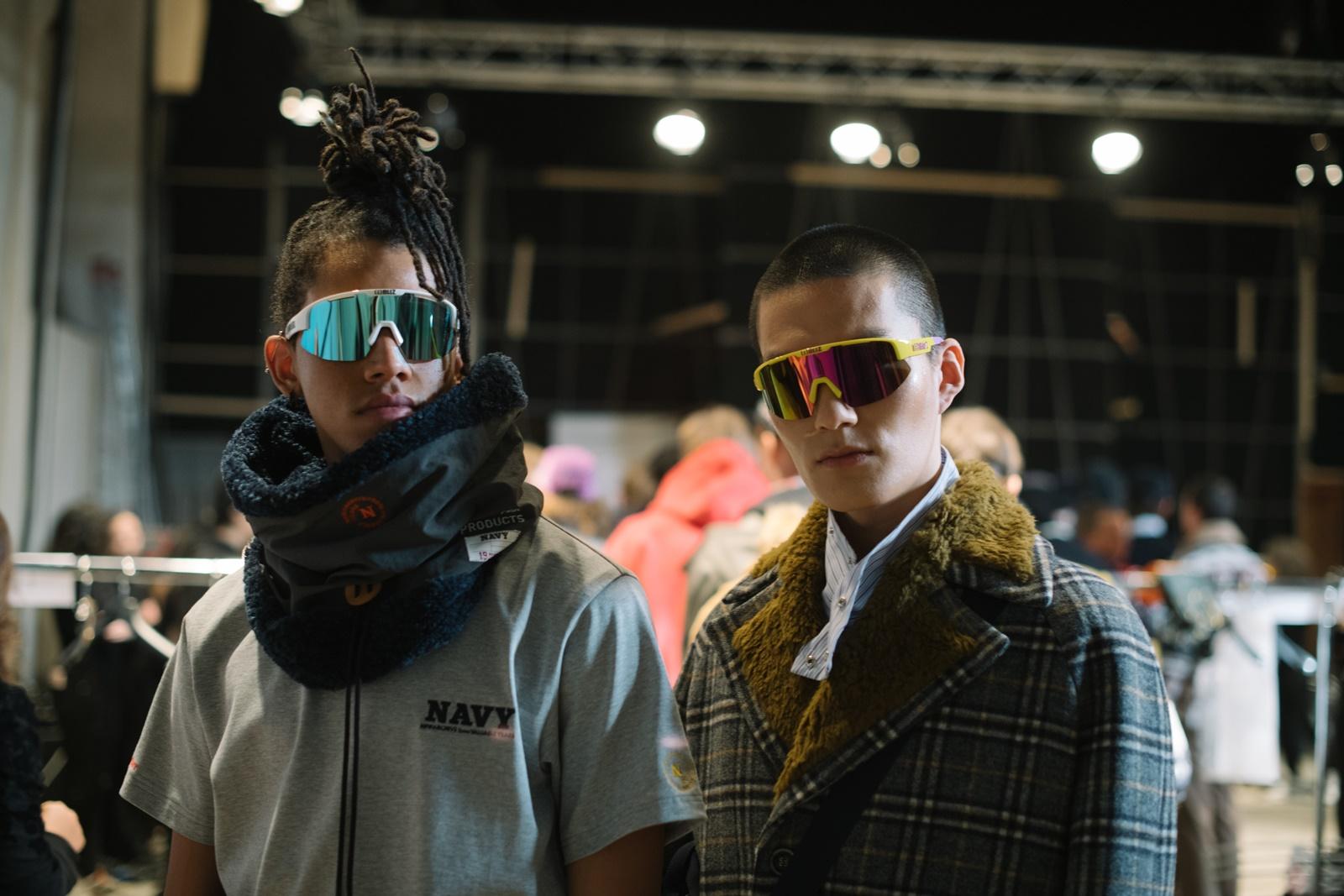 Backstage of Beyond Closet by Concpt Korea at Pitti Uomo