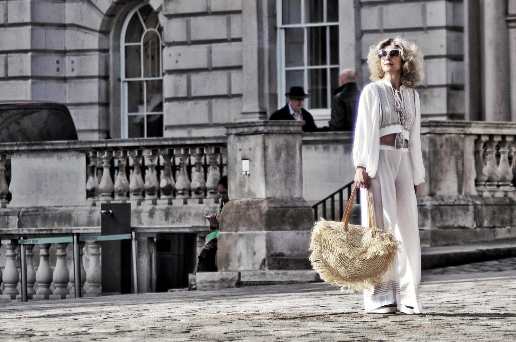 AggelKnitwear street style by Think-Feel-Discover during LFW February 2019