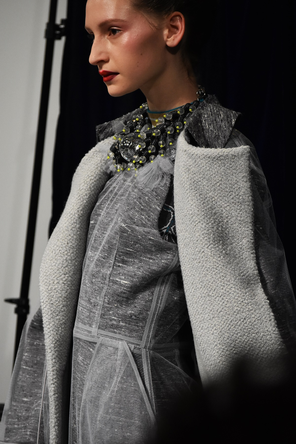 Krsty Ward, David Longshaw OnOff fashion show at LFW Feb19, highlights by Think Feel Discover