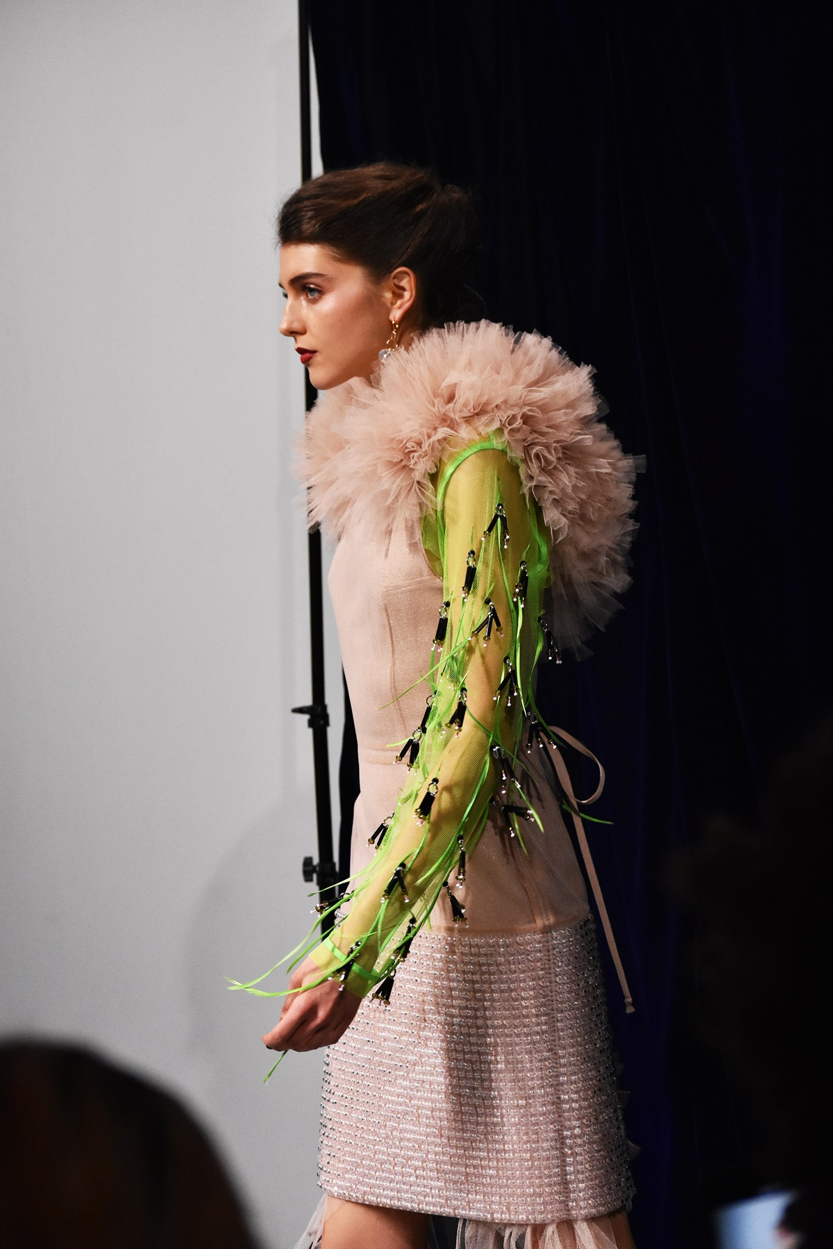 Longshaw Word AW19 by On/Off London at LFW February 2019