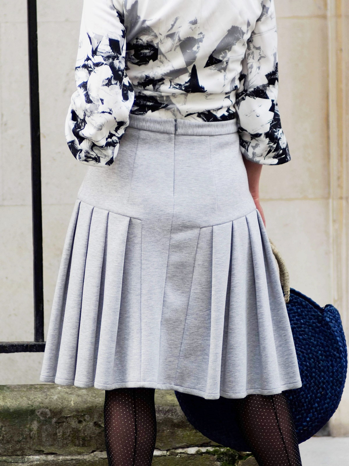 London Street style with British designer Brenda Lukwago during LFW Feb19 by Think Feel Discover
