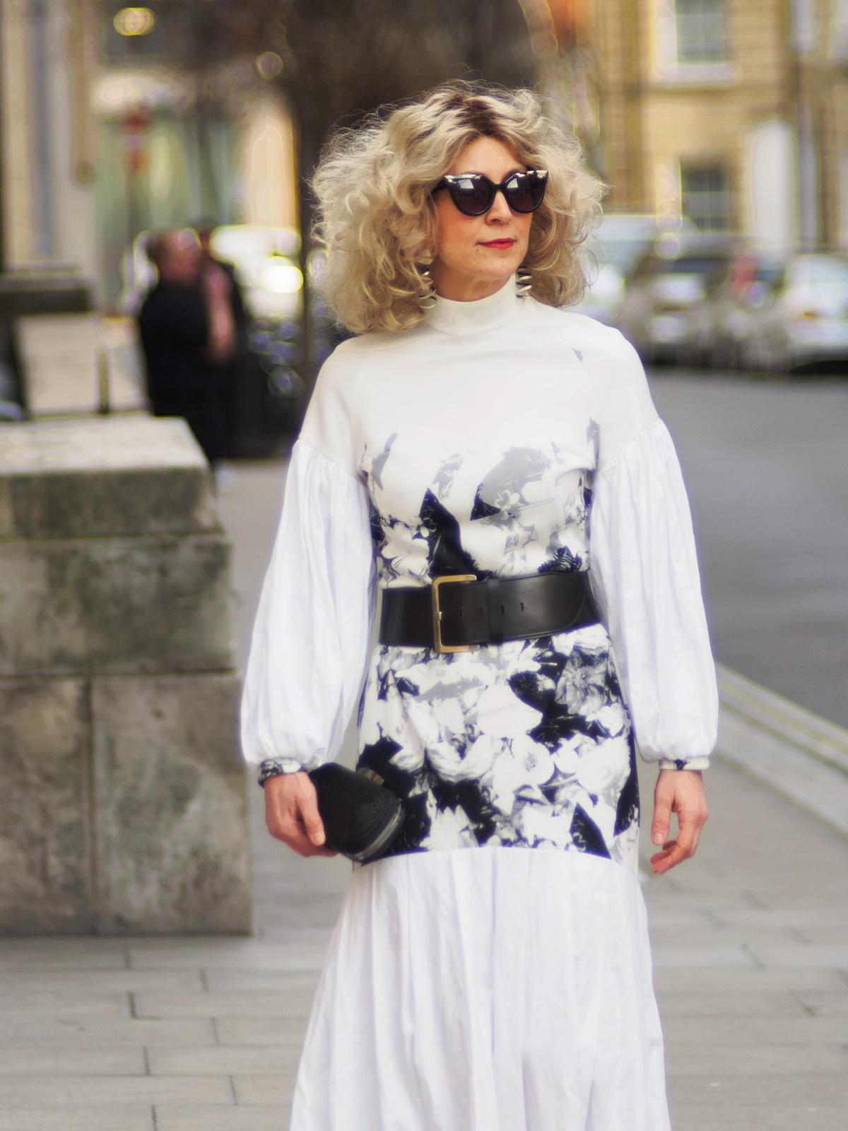 London Street style for British designer Brenda Lukwago during LFW Feb19 by Think Feel Discover