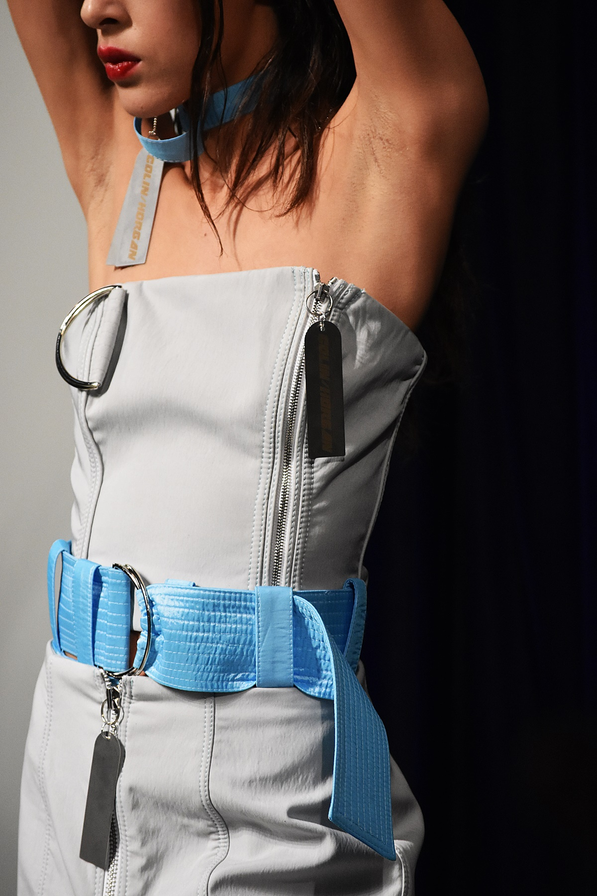 Highlights Colin Horgan OnOffLondon fashion show at LFW Feb19 by Think Feel Discover