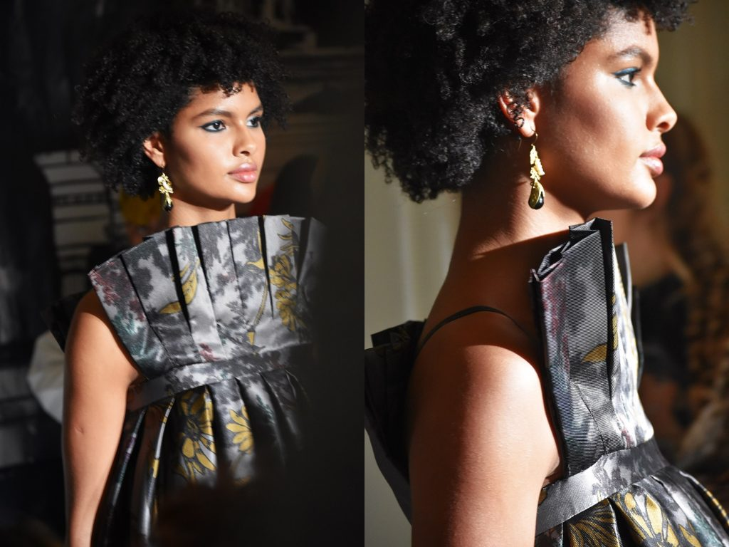 Highlights of Paul Costelloe AW Fashion Show during LFW Feb19