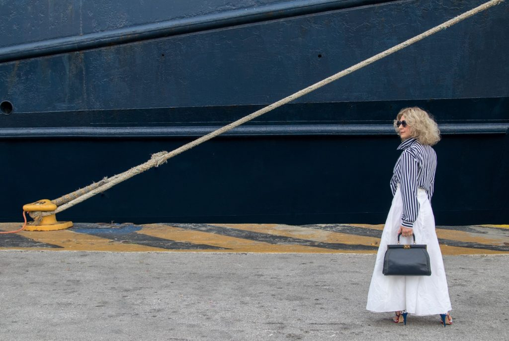 The Breton shirt street style Summer 2019 by Think Feel Discover