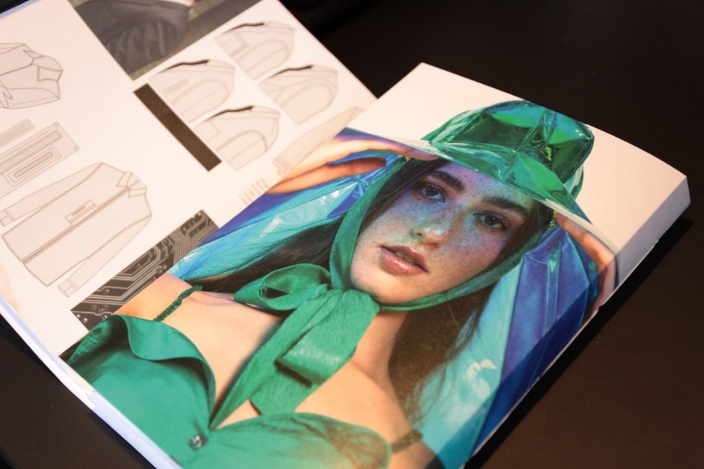 Graduate Preview Day, may 2019 by he British Fashion Council, image for press, Think Feel Discover
