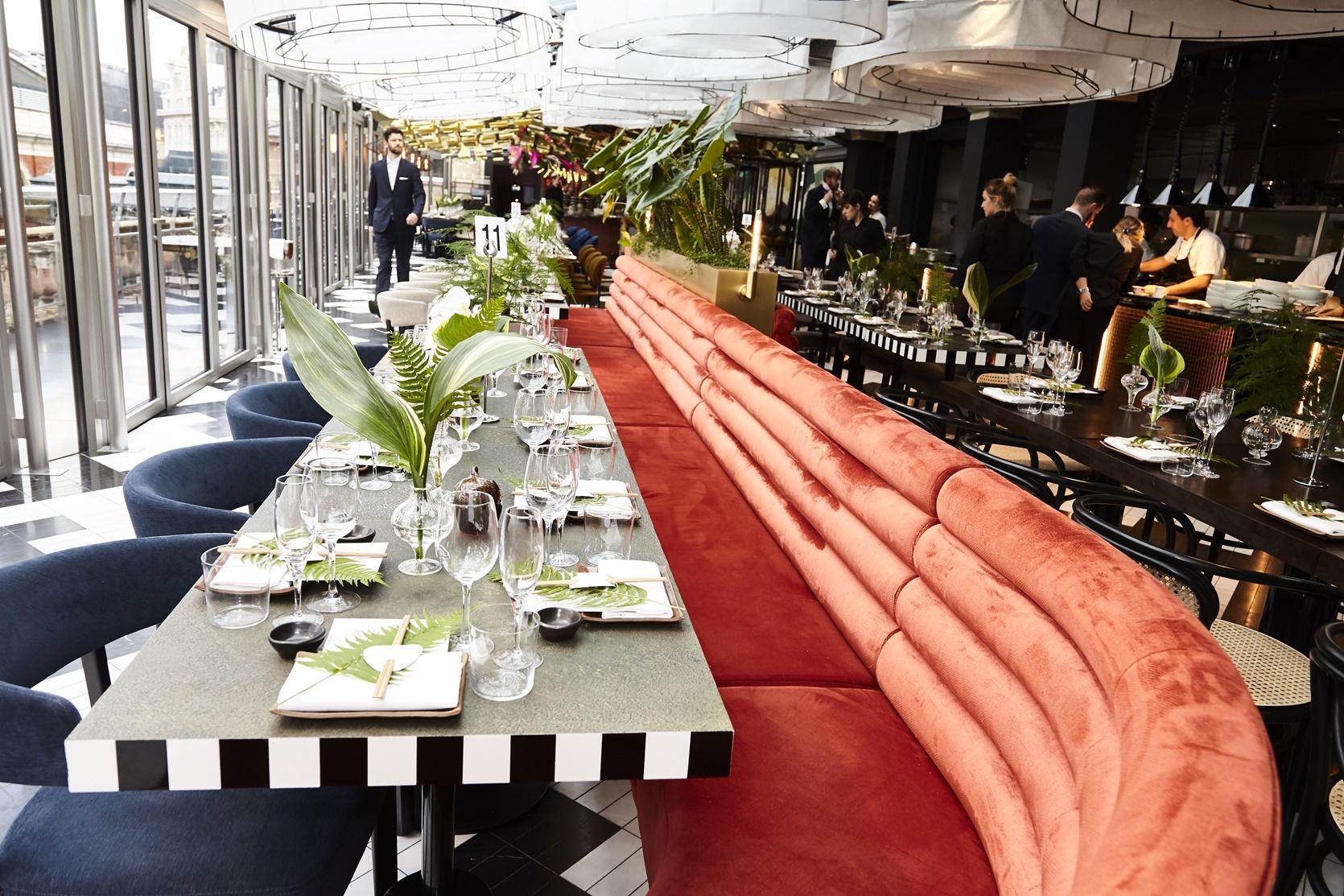 Sushishamba restaurant, BFC Fashion Trust