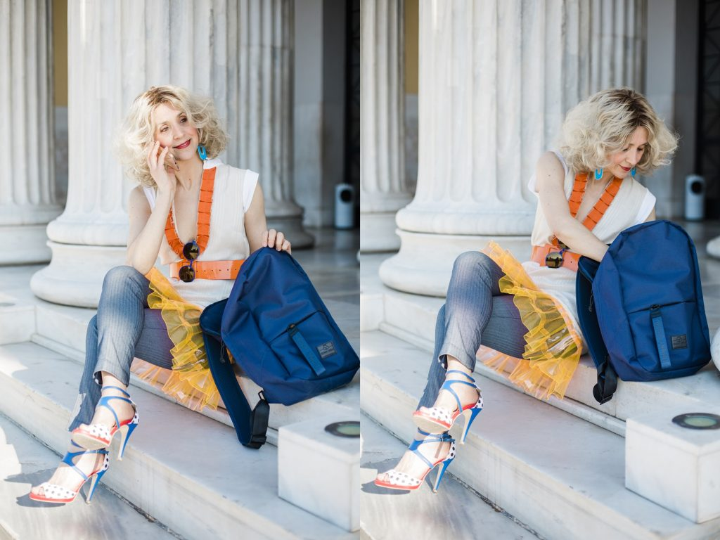 Johnny Urban recycled backpack, street style by Think Feel Discover
