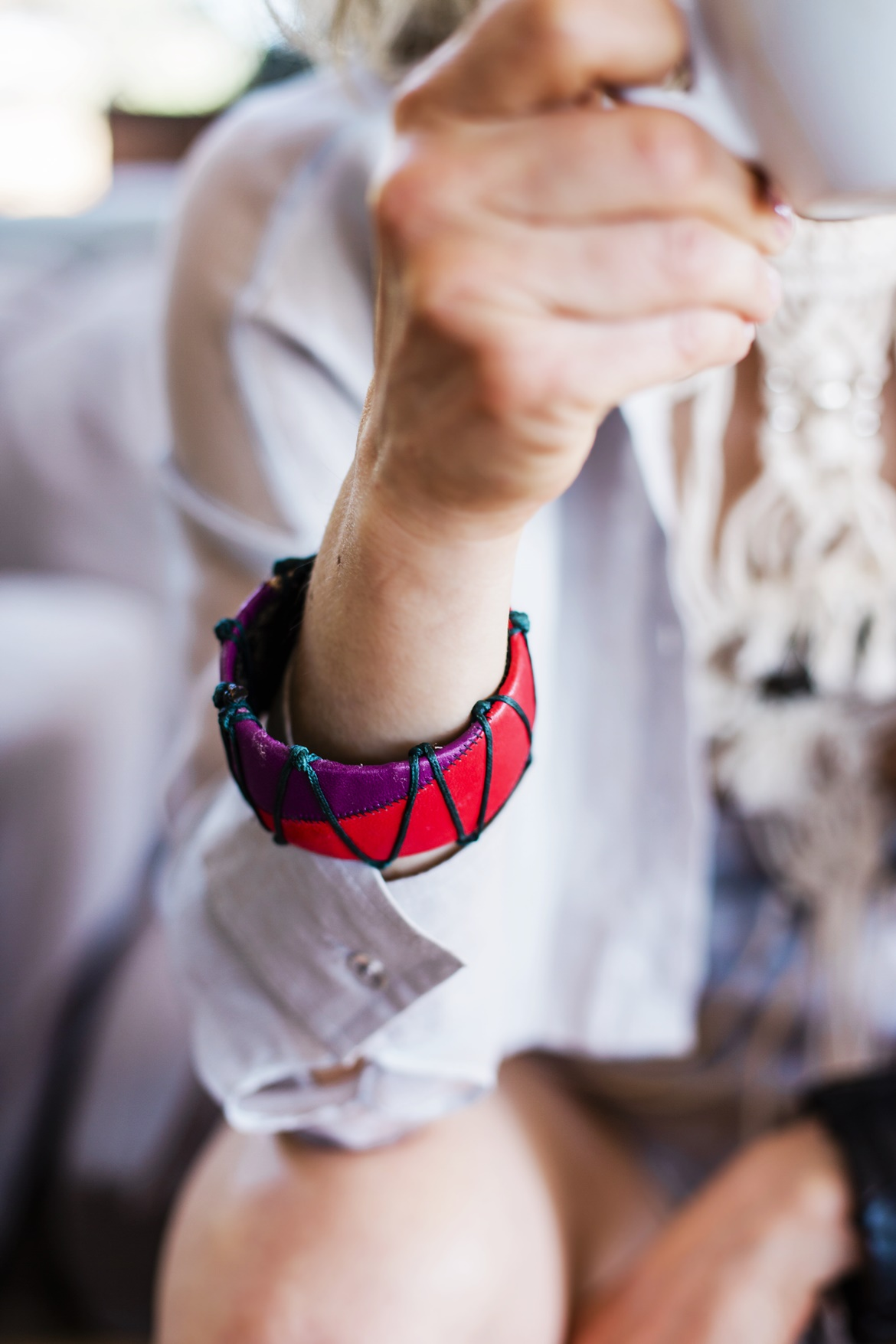 Rien by Penny Vomva, Karima One of a Kind accessories,, street style by Think Feel Discover