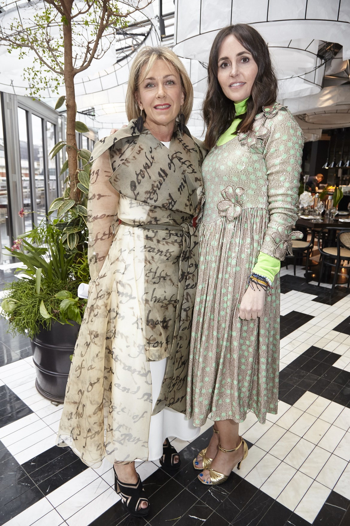 Sian Westerman and Tania Fares , BFC Fashion Trust