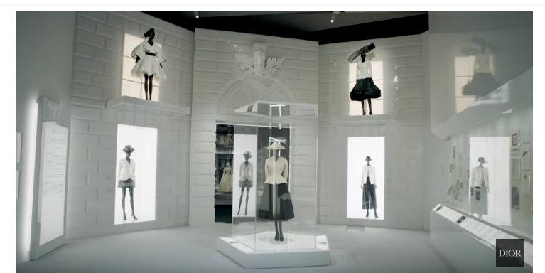 Christian Dior, designer of dreams at VAMuseum during London Fashion Week Men's