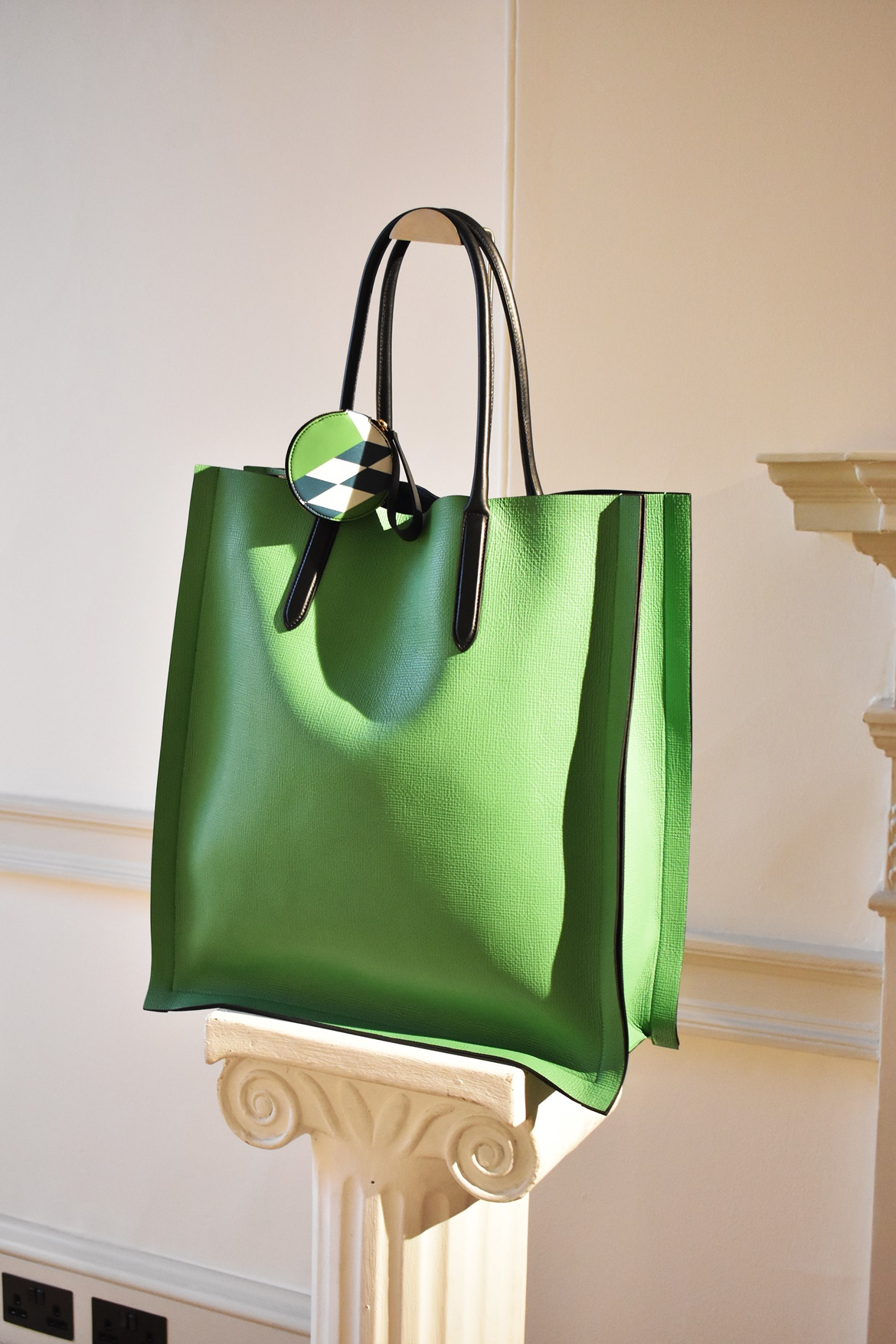 Stationery brand Smythson of Bond Street at Somerset House during LFW February 2019, Think Feel Discover