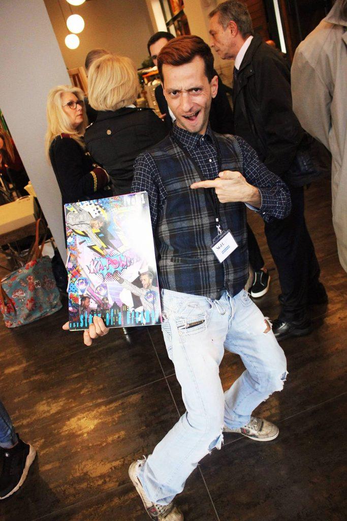 Panajiotis Thanos Fashion Designer The Top Comic Fashion Trend Today