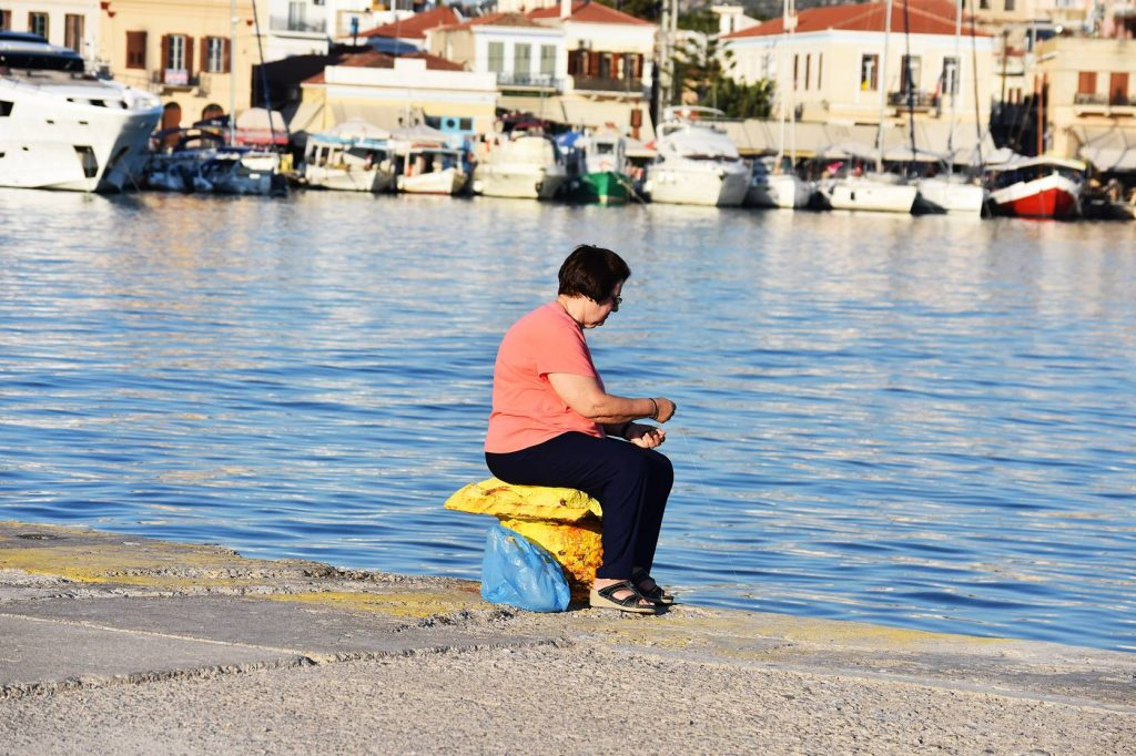 Aegina Greece port, a day trip from Athens, Think Feel Discover Summer street style