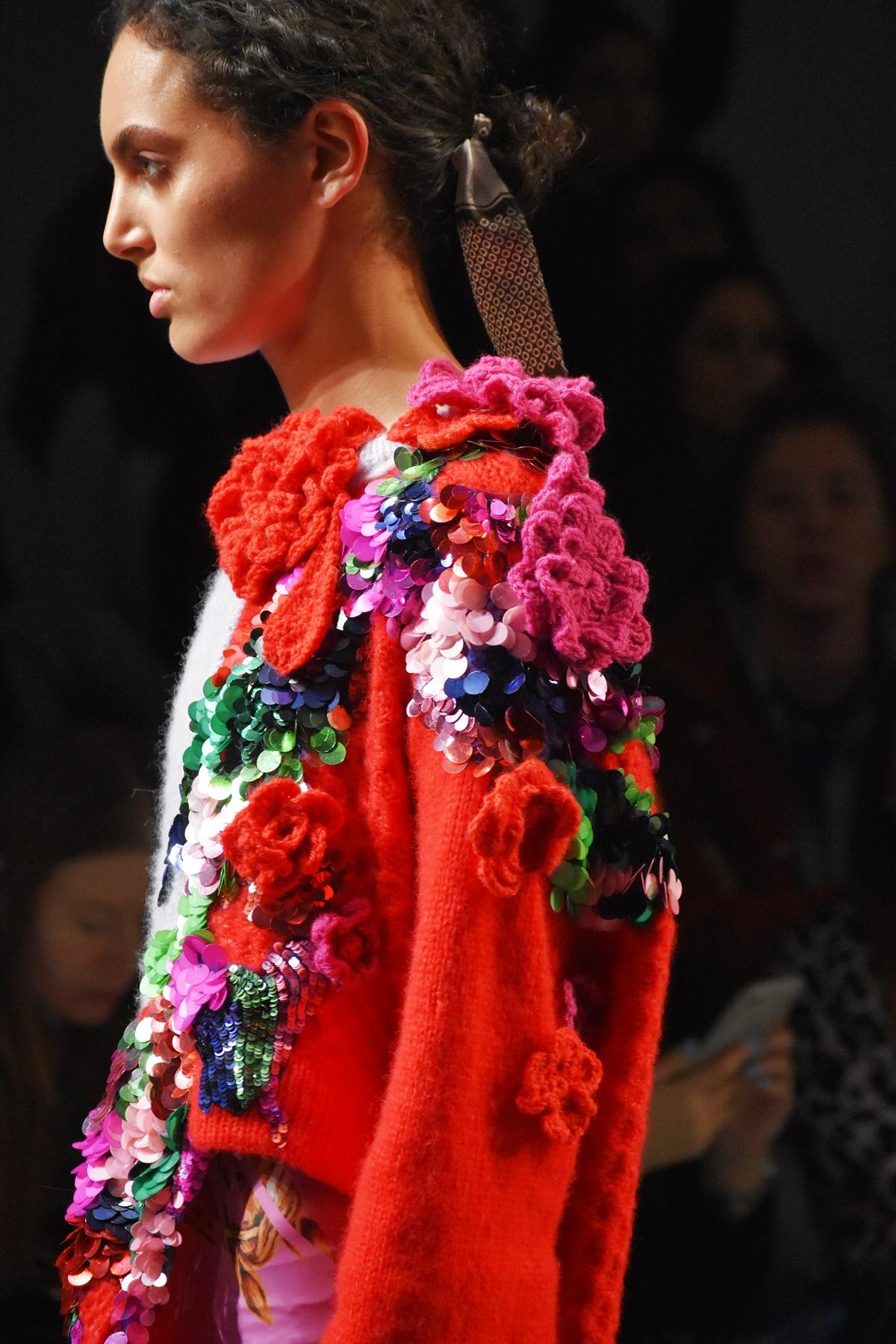 Roberta Einer, Autumn Winter 2019 fashion show, LFW Feb19, Think Feel Discover