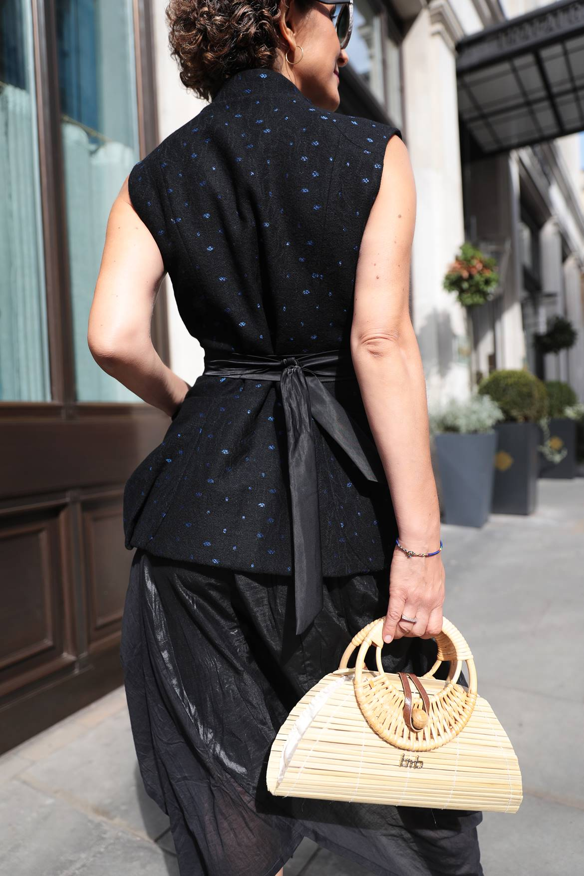 Bamboo Bag, London Fashion Week SS20 sustainable products street style, Think Feel Discover