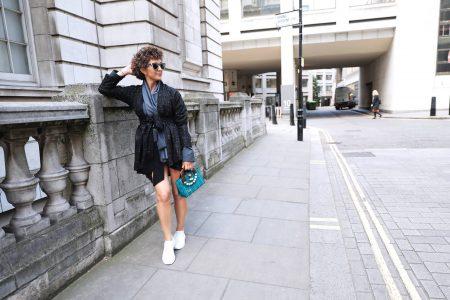 Elisavet kapogianni, London Fashion Week street style 2019, Think Feel Discover