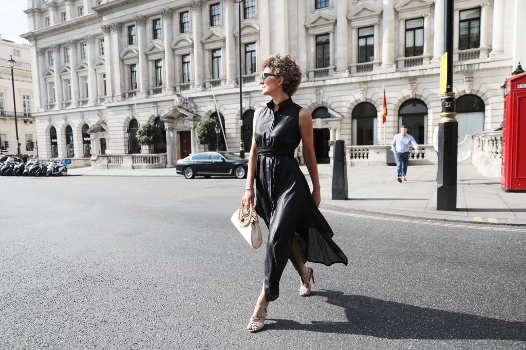 Elisavet kapogianni, London Fashion Week street style 2019, Think Feel Discover