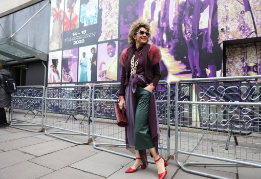 Fashion colour trends 2020 and Street Style photography at Mayfair London during LFW20 by Think-Feel-Discover.com, Fashion Stylist, blogger, vlogger.