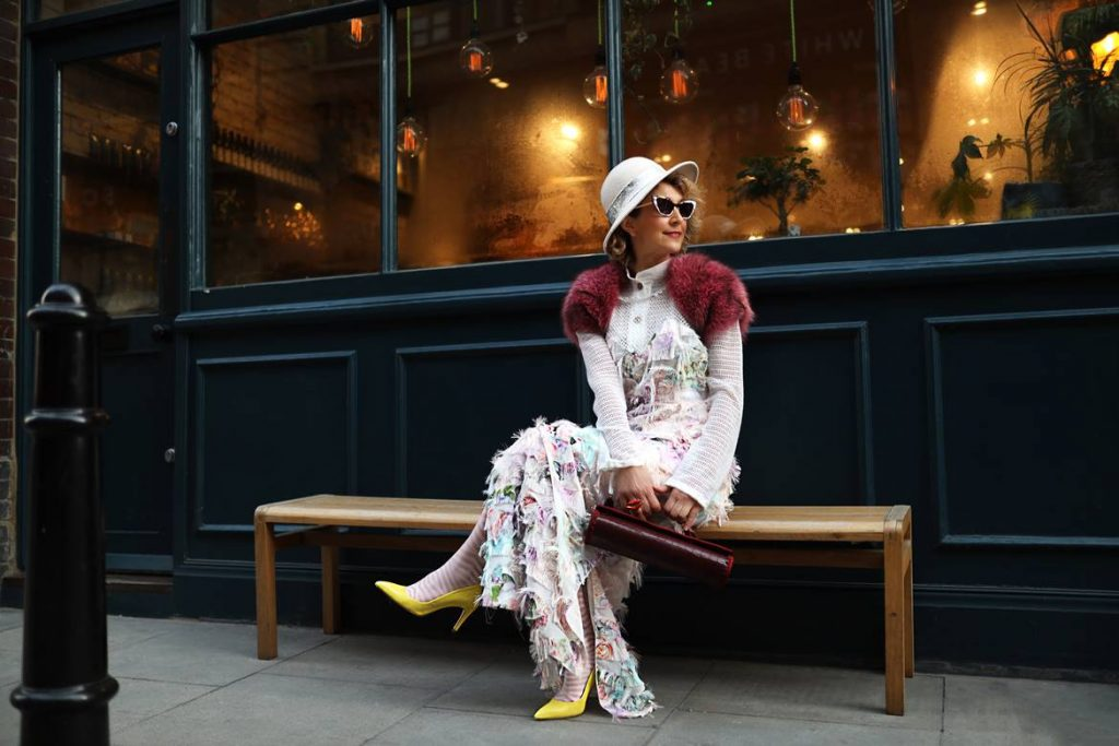 Think Feel Discover London Street Style at LFW February 2020, Spring 2020 Bag trends at Shoreditch London for Unicum Accessories