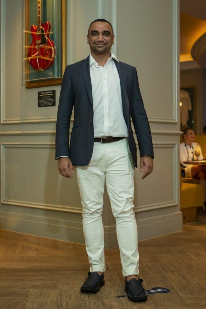 2021 Fashion Trends, Omar Mansoor at Hard Rock Hotel London, presentation of Kintsugi Spring/Summer 2021 collection, LFW20