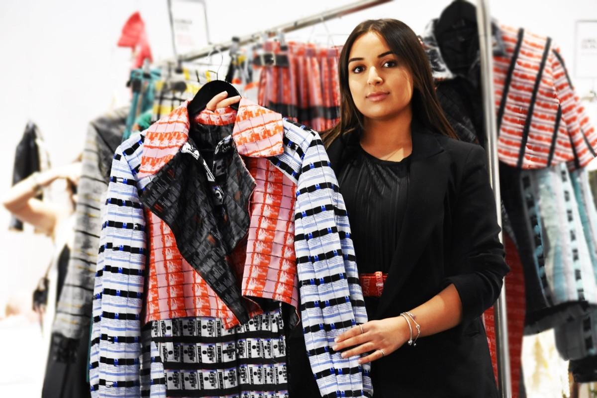 MARIAH ESA, Graduate Fashion Week at Designer showrooms, London Fashion Week 2020