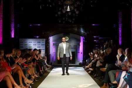 Omar Mansoor SS22 Fashion Show during London Fashion Week 2021